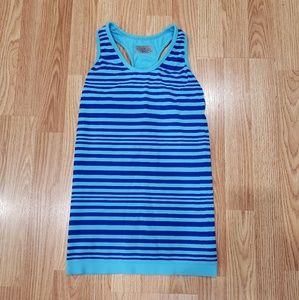 Athleta Striped Support Tank Top Size XS